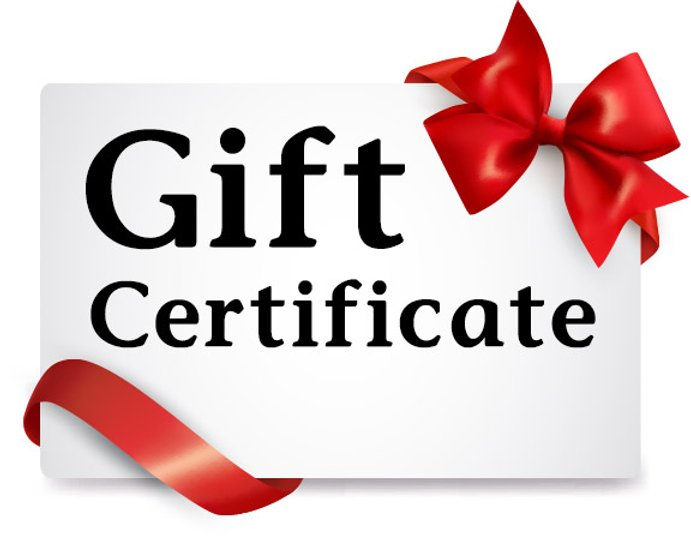 Product Gift Certificate