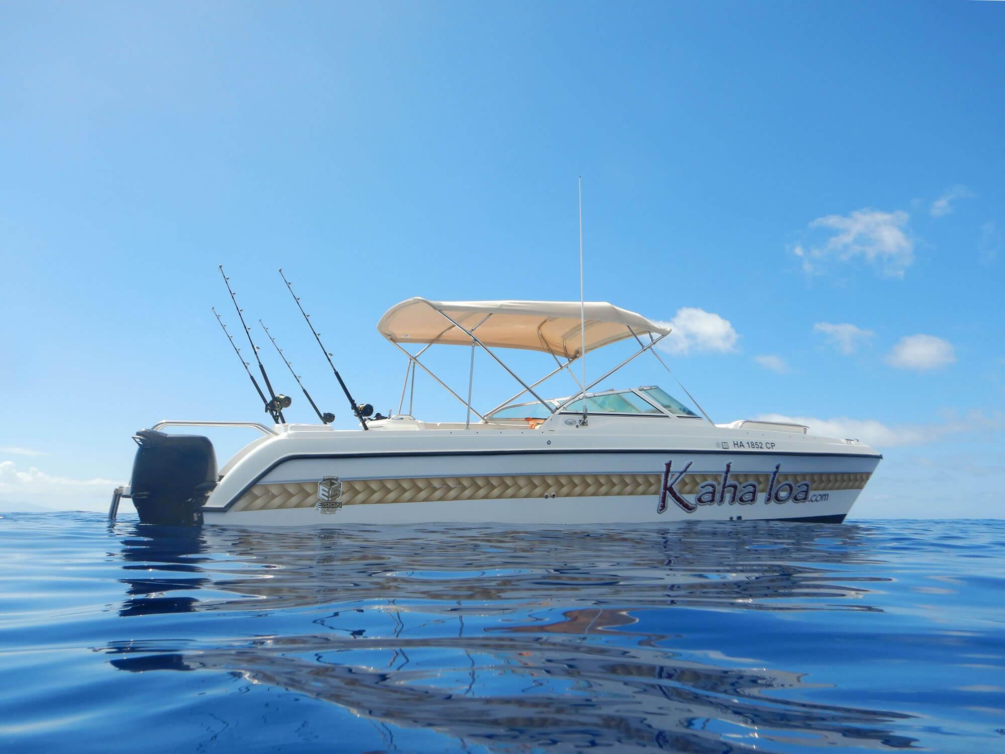 Private 6 Passenger Charter Boat